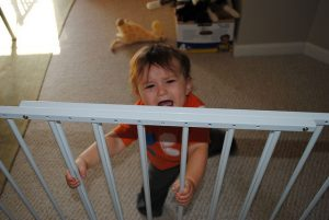 best baby gate for bottom of stairs with banister