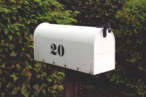 small locking mailbox