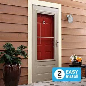 best rated storm doors