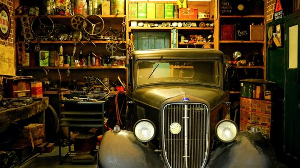 how to organize my garage